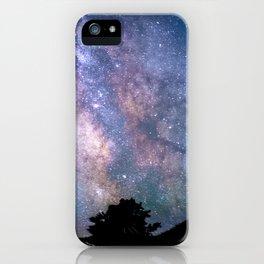 The Night Sky II - glowing stars iPhone Case