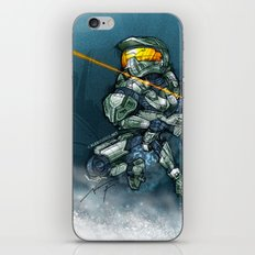 HALO / MASTER Ch iPhone & iPod Skin