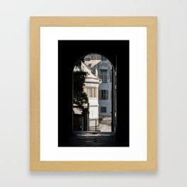 Window to the light Framed Art Print