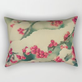 Winter Berry Rectangular Pillow