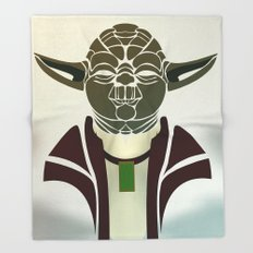 Yoda  Throw Blanket