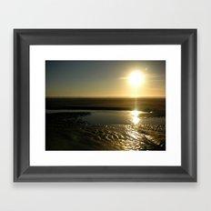 Beachscape Framed Art Print
