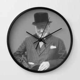 Sir Winston Churchill Wall Clock
