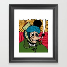 SEVERED EAR.  (Self Portait Of Van Gogh). Framed Art Print