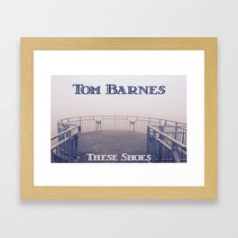 Tom Barnes These Shoes Framed Art Print