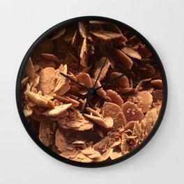 Oklahoma Gypsum  Wall Clock
