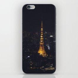 Tokyo Tower at Night iPhone Skin