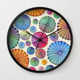 Coctail Umbrellas - Summer Memories Wall Clock