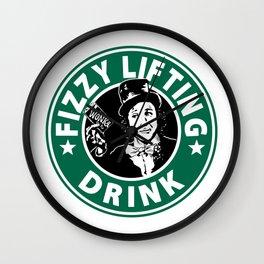 Willy Wonka Starbucks Wall Clock