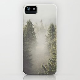 My misty way - Landscape and Nature Photography iPhone Case