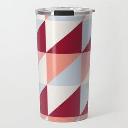 Trio (maroon) Travel Mug