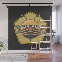 Honey bee Wall Mural