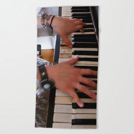 BEAUTIFUL MUSIC 3 Beach Towel