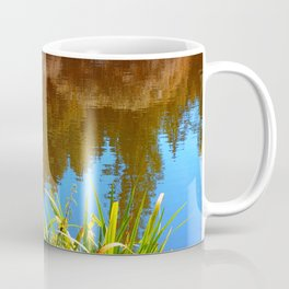 Flowers at the pond Coffee Mug