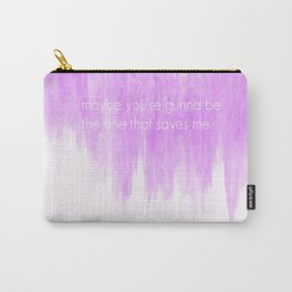 Ombre - Purple - Wonderwall - Oasis Carry-All Pouch