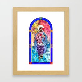 What Would Jesus Do? Framed Art Print
