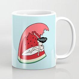 Watermelon Surf Coffee Mug