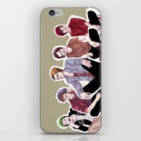 "band iPhone & iPod Skins featuring "" Beanie Band "" by Karu Kara"