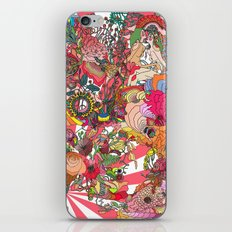 Of the Hare Meadow iPhone & iPod Skin