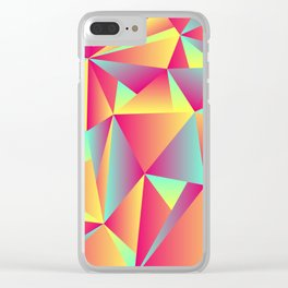 The Triangles Clear iPhone Case