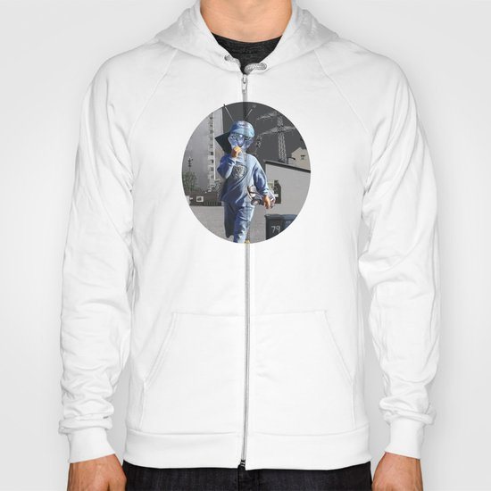 CatKid in illusion City Collage Hoody