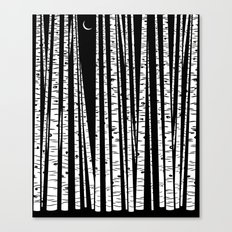 See the Forest Canvas Print