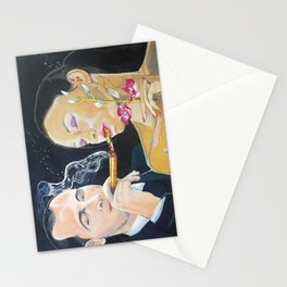 The kiss edge Stationery Cards