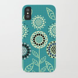 Floral romance iPhone Case
