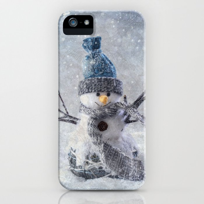cute snowman frozen freeze iphone case