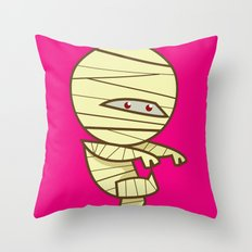 Have you seen my Mummy? Throw Pillow