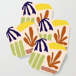 Color Study Matisse Inspired Coaster