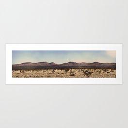 Marfa, Texas Landscape Art Print