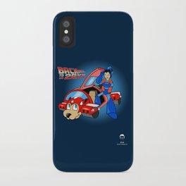 'Back to 20XX' (Mega Man / 'Back to the Future' parody) iPhone Case