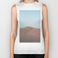 dune Biker Tanks featuring Dune by Richard PJ Lambert