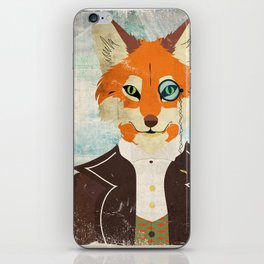 Foxy le dandy iPhone Skin