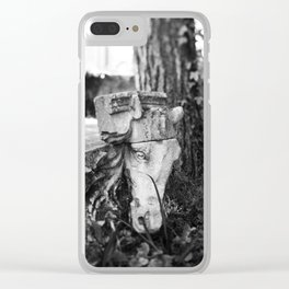 Through the gates & down the path to the horse's head Clear iPhone Case