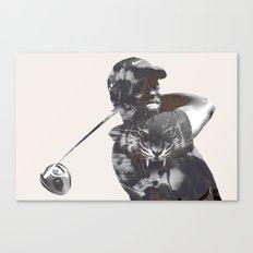 Sir Tiger Woods Canvas Print