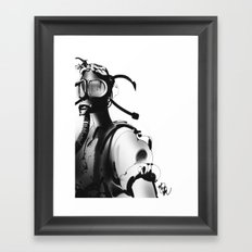BnW9 Framed Art Print