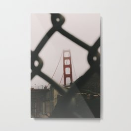 Golden Gate Bridge / San Francisco Metal Print