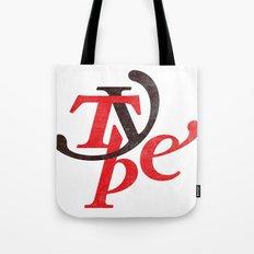 Type Tote Bag