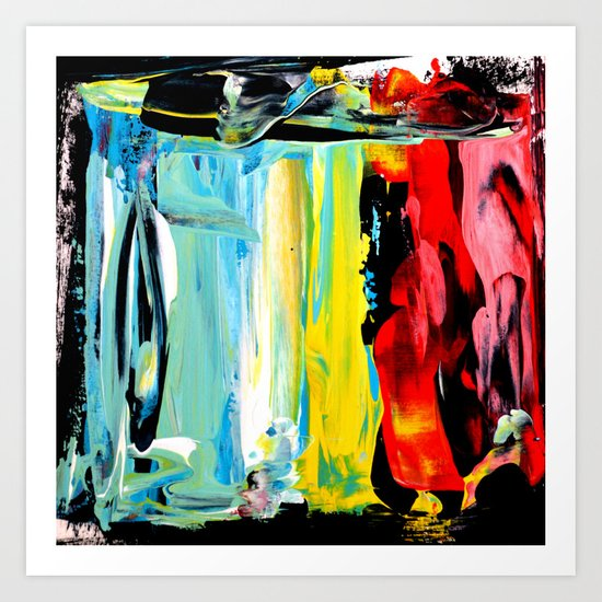 Color Abstract 3 Art Print
