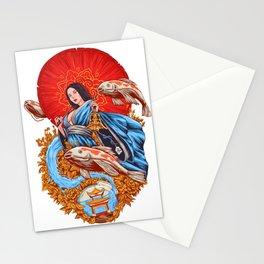 a koi dream Stationery Cards