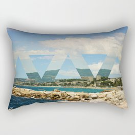 cannes twist.  Rectangular Pillow