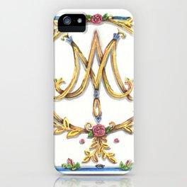 Marie Antoinette Sigil iPhone Case