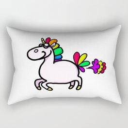 Flying unicorn Rectangular Pillow