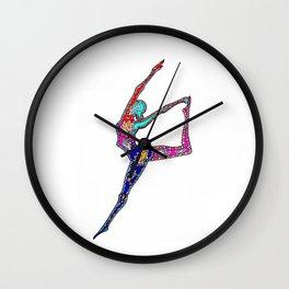 "Yoga Collection: ""Prancer"" Wall Clock"
