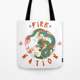 Avatar : The Fire Nation Tote Bag