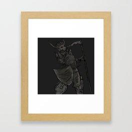 Carrion King Shirt Framed Art Print