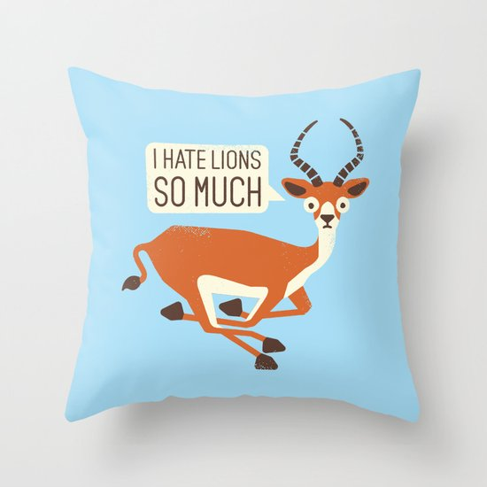 Prey Tell Throw Pillow