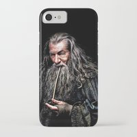 gondor iPhone & iPod Cases featuring Gandalf  by DavinciArt